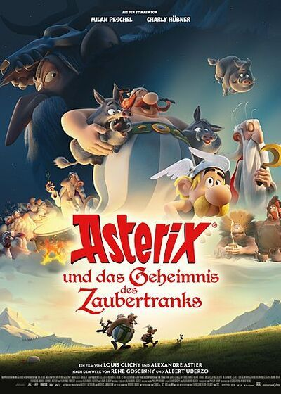 دانلود رایگان فیلم Asterix The Secret Of Magic Potion 2018